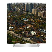 Chicago Lincoln Park Zoo Shower Curtain