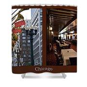 Chicago Macys Department Store 2 Panel Shower Curtain