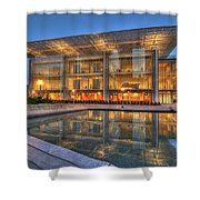 Chicago Modern Art Wing Shower Curtain