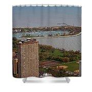 Chicago Montrose Harbor 01 Shower Curtain