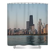 Chicago Morning Shower Curtain