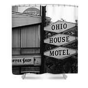 Chicago Motel Shower Curtain