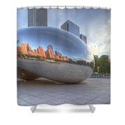 Chicago Reflection Shower Curtain
