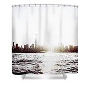 Chicago Skyline II Shower Curtain