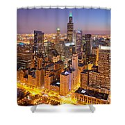 Chicago Southwest 2 Shower Curtain