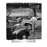 Chicago Traffic, 1941 Shower Curtain