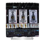 Chicago United Center Banners Shower Curtain