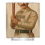 Chicago White Stockings 1887 Shower Curtain
