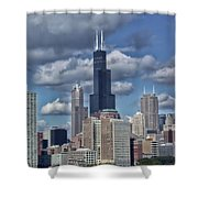 Chicago Willis Sears Tower Shower Curtain