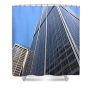 Chicago Willis Tower Shower Curtain