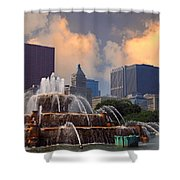 Chicago...my Kind Of Town Shower Curtain