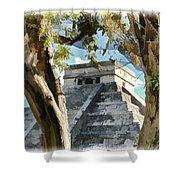 Chichen Itza - Yucatan Mexico Shower Curtain