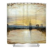 Chichester Canal Shower Curtain