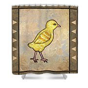 Chick One Shower Curtain