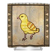 Chick Two Shower Curtain