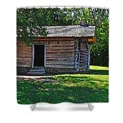 Chickamauga Cabin Shower Curtain