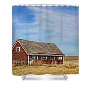 Chicken Coop - 2 Shower Curtain