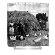 Chicken Farmers, 1939 Shower Curtain