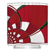 Chicken Little Crossed The Road - Abstract - Triptych Shower Curtain