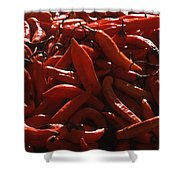 Chiclayo Peppers #1 Shower Curtain