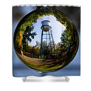 Chico Water Tower Shower Curtain