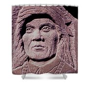 Chief-cochise-2 Shower Curtain