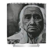 Chief Dan George Shower Curtain