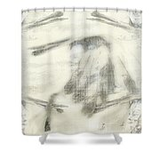 Chief Dreams Shower Curtain