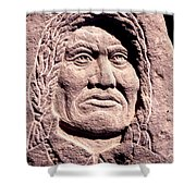 Chief-gall Shower Curtain