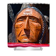 Chief Looking Shower Curtain