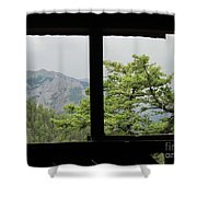 Chief Ouray Mine View Shower Curtain