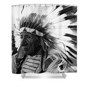 Chief Red Cloud Shower Curtain