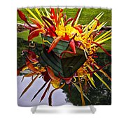 Chihuly Float Shower Curtain