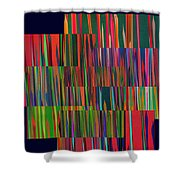 The Glass Forest Shower Curtain