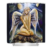 Child Of Stars Shower Curtain