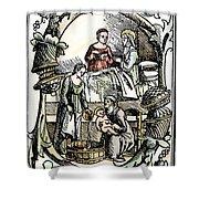 Childbirth, 1499 Shower Curtain