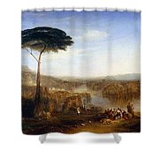 Childe Harold's Pilgrimage Shower Curtain