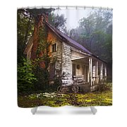 Childhood Dreams Shower Curtain by Debra and Dave Vanderlaan