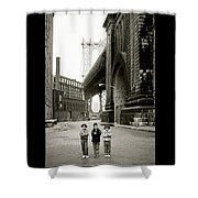 A New York Childhood Shower Curtain