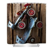Childhood Skates Shower Curtain