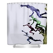 Childhood Shower Curtain