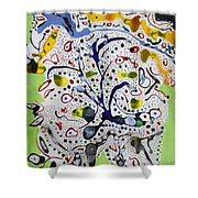 Childlike Innocence Shower Curtain