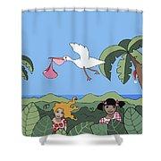 Children 2 Shower Curtain