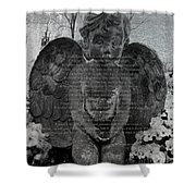 Children Learn What They Live Shower Curtain