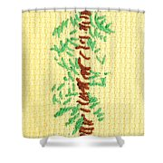 Childs Embroidery Shower Curtain