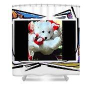 Child's Teddy Bear Shower Curtain