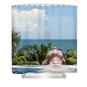 Chilled In Paradise Shower Curtain