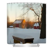 Chilled Seat Shower Curtain