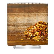 Chilli Seeds Shower Curtain