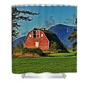 Chilliwack Barn Shower Curtain
